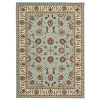 Nourison Empire Blue Rug - 5' x 7'