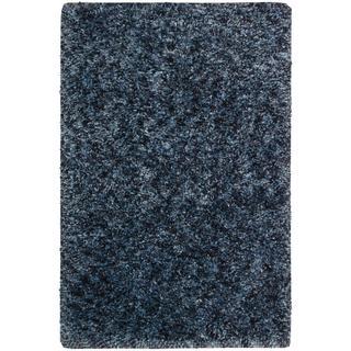 Nourison Galaxy Denim Shag Area Rug (3'6 x 5'6)