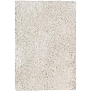 Nourison Malibu White Shag Area Rug (2'3 x 3'9)
