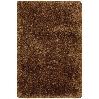 Nourison Galaxy Chocolate Shag Area Rug (7'6 x 9'6)