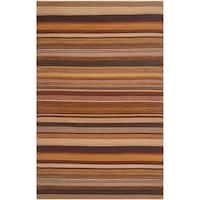 Safavieh Hand-Woven Kilim Rust Wool Rug (3' x 5')