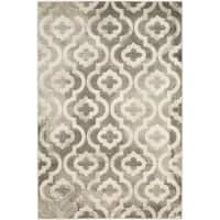 Safavieh Porcello Contemporary Moroccan Grey/ Ivory Rug - 3' x 5'