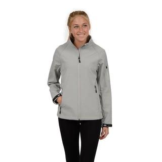 Champion Women's Raglan Sleeve Mock Neck Soft Shell Jacket
