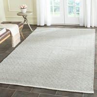 Safavieh Hand-Tufted Boston Grey Cotton Rug - 5' x 8'