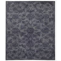 Safavieh Handmade Antiquity Grey/ Multi Wool Rug - 5' x 8'