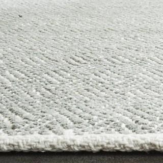 Safavieh Hand-Tufted Boston Grey Cotton Rug (6' Square)