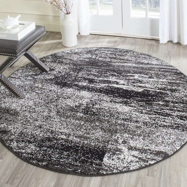 Safavieh Adirondack Modern Abstract Silver Black Rug 6