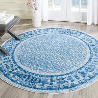 Safavieh Adirondack Silver/ Blue Rug (6' Round)