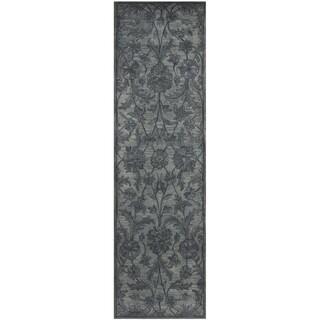 Safavieh Handmade Antiquity Grey/ Multi Wool Rug (2'3 x 6')