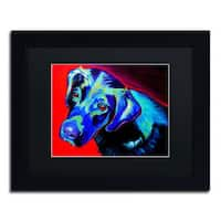 DawgArt 'Canyon' Black Matte, Black Framed Wall Art