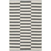 Safavieh Hand-Woven Montauk Ivory/ Grey Cotton Rug - 2'3 x 3'9