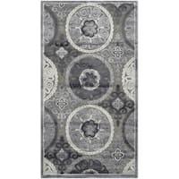 Safavieh Paradise Light Grey/ Dark Grey Viscose Rug (2'3 x 4')