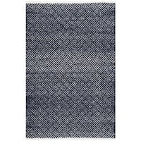 Safavieh Hand-Tufted Boston Navy Cotton Rug - 2'6 x 4'