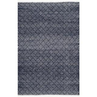 Safavieh Hand-Tufted Boston Navy Cotton Rug (2'6 x 4')