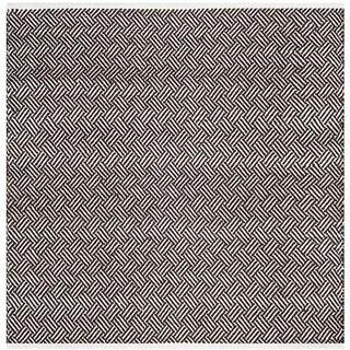 Safavieh Hand-Tufted Boston Brown Cotton Rug (4' Square)