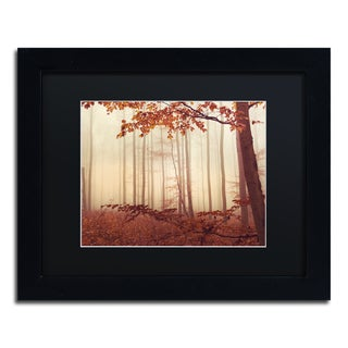 Philippe Sainte-Laudy 'The Last of Fall' Black Matte, Black Framed Wall Art
