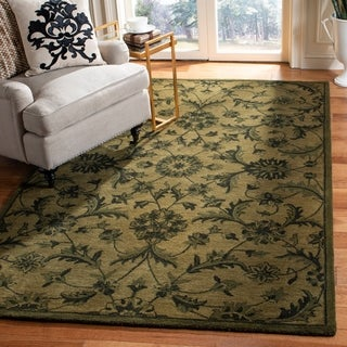 Safavieh Handmade Antiquity Grey/ Multi Wool Rug (9' x 12')