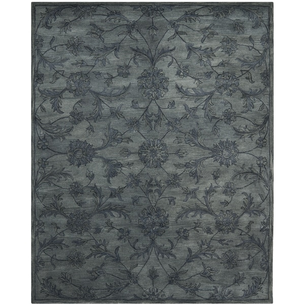 Safavieh Handmade Antiquity Grey/ Multi Wool Rug - 9' x 12'