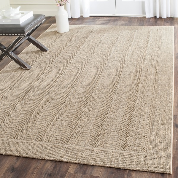 Safavieh palm beach desert sand sisal rug 8 39 x 11 39 free shipping today Home goods palm beach gardens