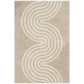 Safavieh Handmade Chatham Beige/ Ivory Wool Rug (2' x 3')