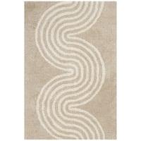 Safavieh Handmade Chatham Beige/ Ivory Wool Rug - 2' x 3'