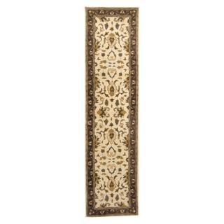 Herat Oriental Indo Hand-tufted Mahal Wool Runner (2'6 x 9'8)