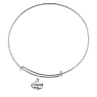 Florida Sterling Silver Charm Adjustable Bracelet