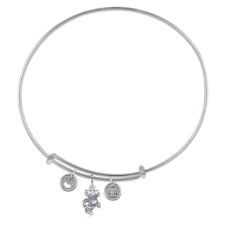 Wisconsin Adjustable Bracelet with Charms