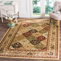 Safavieh Lyndhurst Traditional Oriental Multicolor/ Black Rug - 10' x 14'