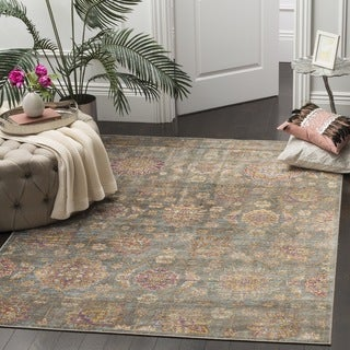 Safavieh Sevilla Grey/ Multi Viscose Rug (9'6 x 13')