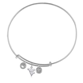 WVU Adjustable Bracelet with Charms