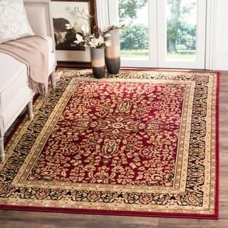Safavieh Lyndhurst Traditional Oriental Red/ Black Rug (10' x 14')