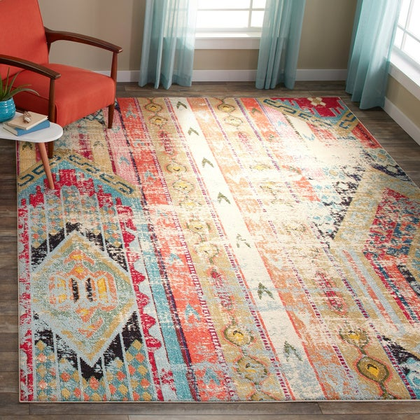 Safavieh Monaco Vintage Bohemian Multicolored Distressed