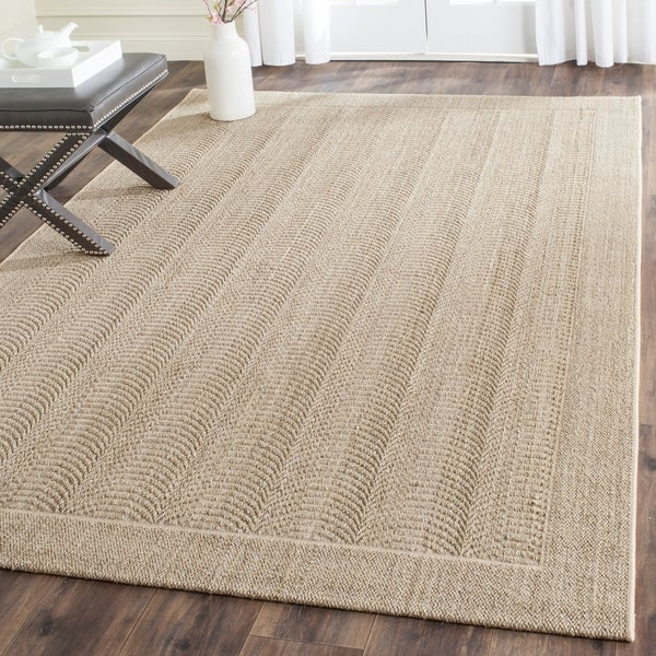 Shop Safavieh Palm Beach Desert Sand Sisal Jute Rug 9