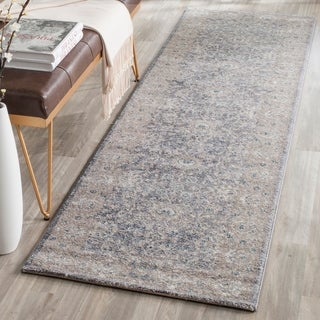 Safavieh Sofia Vintage Oriental Light Grey / Beige Distressed Rug (9' x 12')