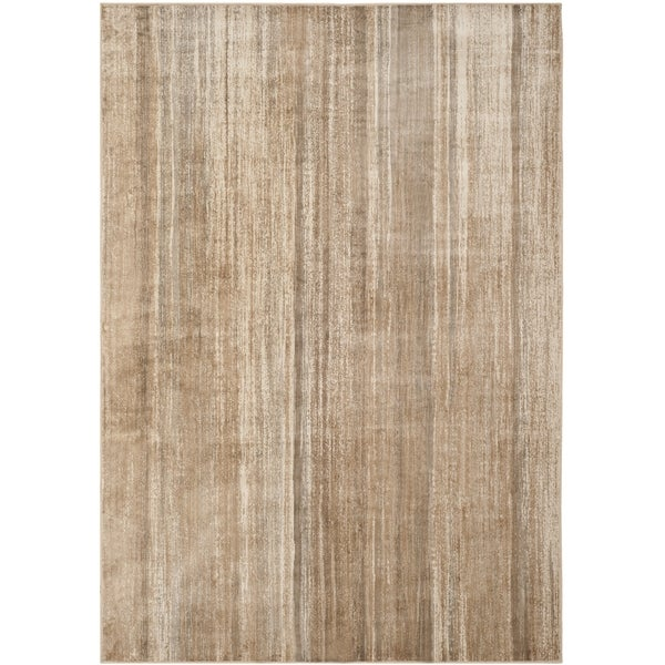 Safavieh Vintage Caramel Abstract Distressed Silky Viscose Rug - 8'10 x 12'2
