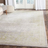 Safavieh Passion Vintage Oriental Grey / Green Distressed Rug - 9' x 12'