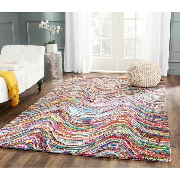 Safavieh Handmade Nantucket Multi Cotton Rug - 9' x 12'