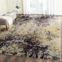Safavieh Monaco Abstract Vintage Grey / Multi Distressed Rug - 9' x 12'