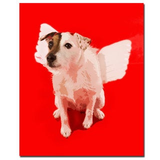 Gifty Idea Greeting Cards and Such! 'Jack Angel' Canvas Art