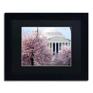 CATeyes 'Cherry Blossoms 2014-7' Black Matte, Black Framed Wall Art