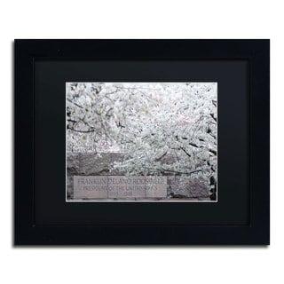 CATeyes 'Cherry Blossoms 2014-4' Black Matte, Black Framed Wall Art