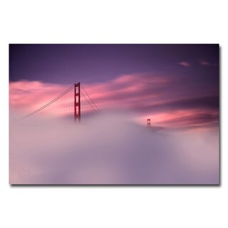 Philippe Sainte-Laudy 'San Francisco Fog' Canvas Art