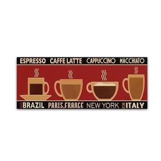 Pela Studio 'Deco Coffee Panel I' Canvas Art
