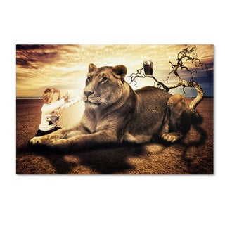 Erik Brede 'Lionheart' Canvas Art