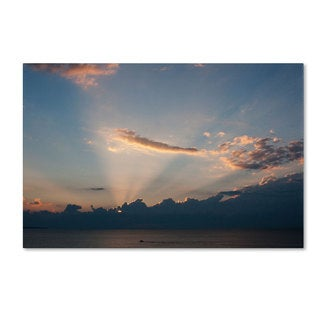 Kurt Shaffer 'Inspiration Sunset II' Canvas Art
