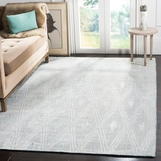 Safavieh Handmade Mirage Modern Grey Wool/ Viscose Rug (9' x 12')|https://ak1.ostkcdn.com/images/products/10465211/P17556171.jpg?impolicy=medium