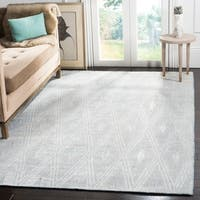 Safavieh Handmade Mirage Modern Grey Wool/ Viscose Rug - 9' x 12'