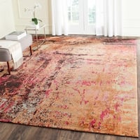 Safavieh Monaco Abstract Multicolored Distressed Rug (9' x 12')