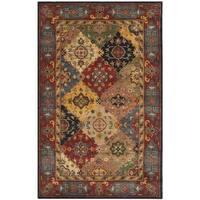 Safavieh Handmade Heritage Timeless Traditional Red Wool Rug - 5' x 12'